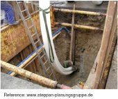 Use of continuous pipe with deformed cross sections, click to zoom
